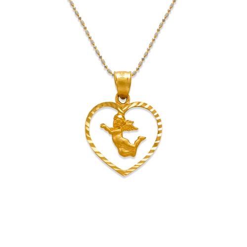 568-107 Angel in Heart Pendant