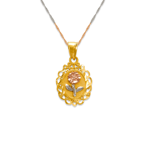 568-149 Rose Pendant