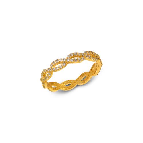 273-102 Ladies Fancy CZ Band Ring