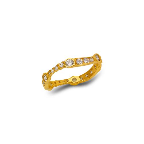 273-104 Ladies Fancy CZ Band Ring