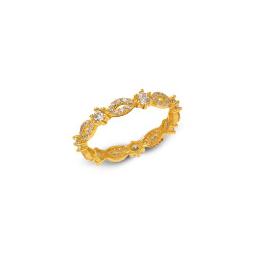 273-105 Ladies Fancy CZ Band Ring