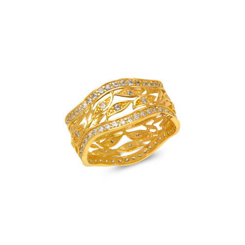 273-206 Ladies Fancy CZ Ring