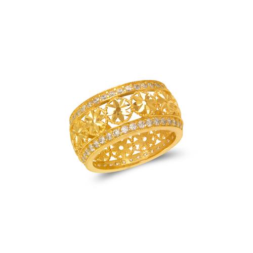 273-303 Ladies Fancy CZ Ring