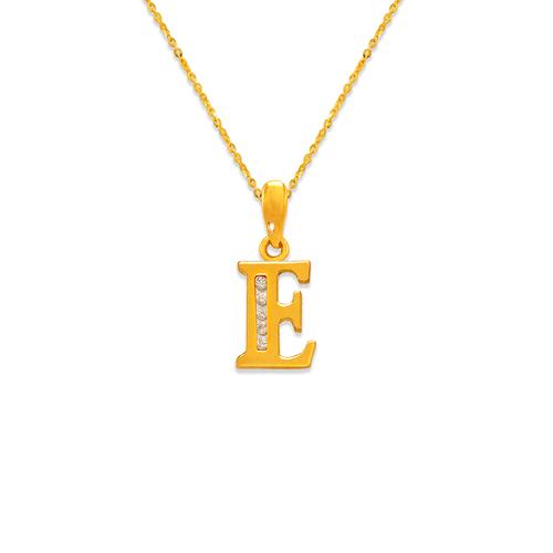 """583-101E Initial """"E"""" Pendant"""