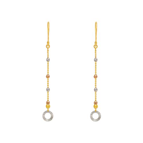 842-005  Dangling Ring Earrings
