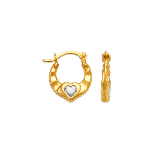 547-362Z Hollow Super Light Shrimp Hoop Earrings
