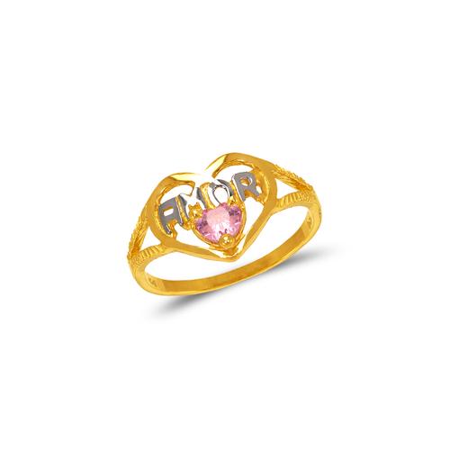 573-212 Ladies Amor Filigree CZ Ring