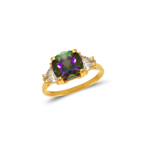 575-123 Ladies Mystic CZ Ring