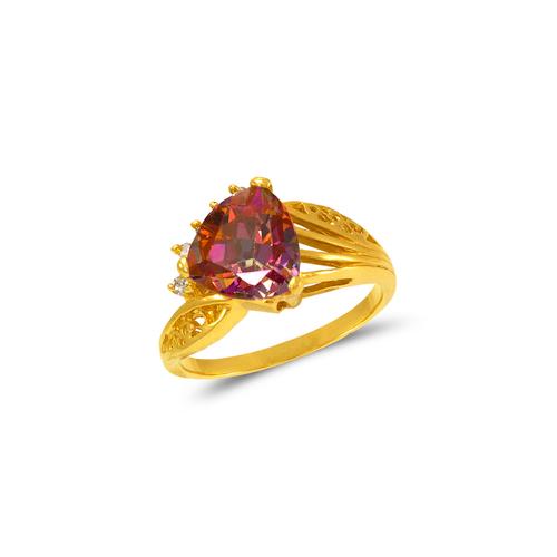 575-124 Ladies Mystic CZ Ring