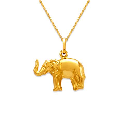 166-010 Elephant Charm Pendant