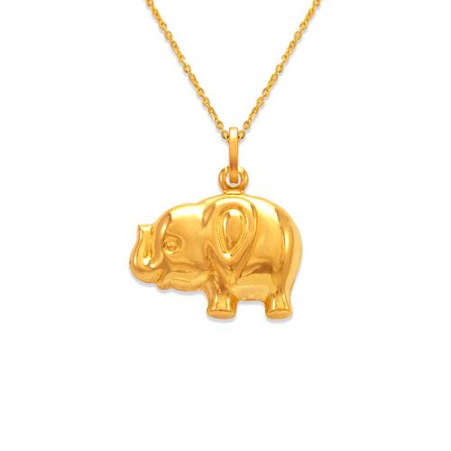 166-011 Elephant Charm Pendant