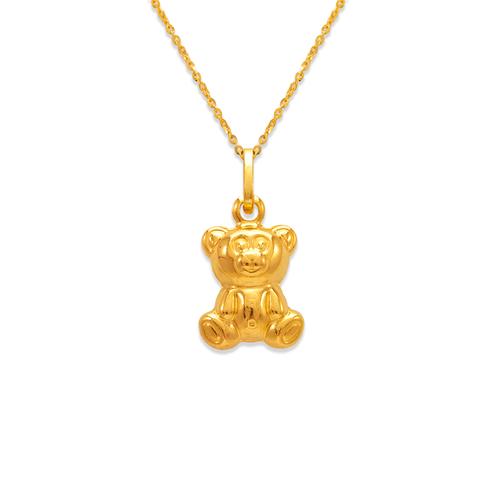 166-019 Teddy Bear Charm Pendant