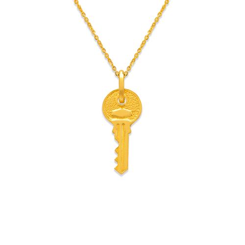 166-029 19mm Key Charm Pendant