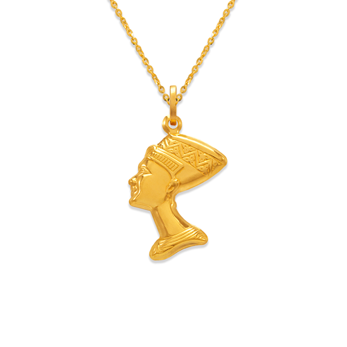166-047 23mm Cleopatra Charm Pendant
