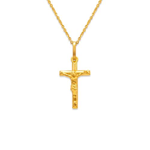 166-055 Jesus Cross Charm Pendant