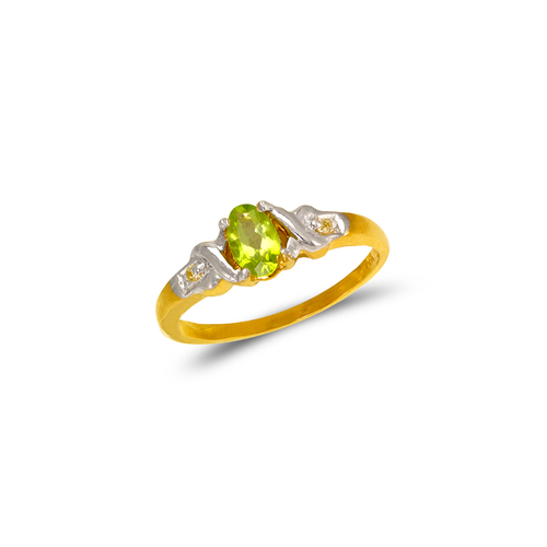 673-002 Ladies CZ Ring