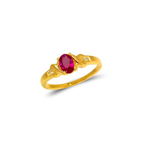 673-003 Ladies CZ Ring