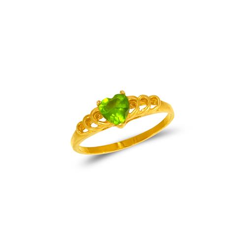 673-006 Ladies Heart CZ Ring