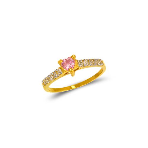673-010 Ladies Heart CZ Ring