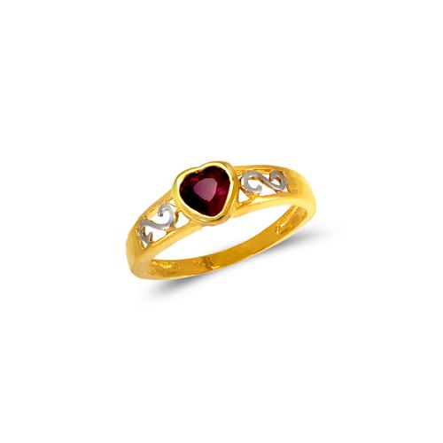 673-013 Ladies CZ Ring
