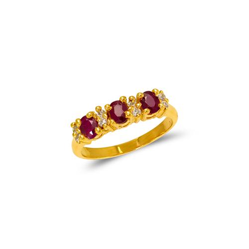 673-016 Ladies CZ Ring