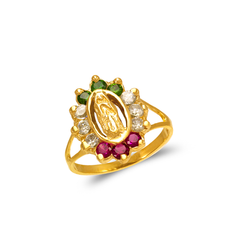 673-701 Ladies Guadalupe Fashion CZ Ring