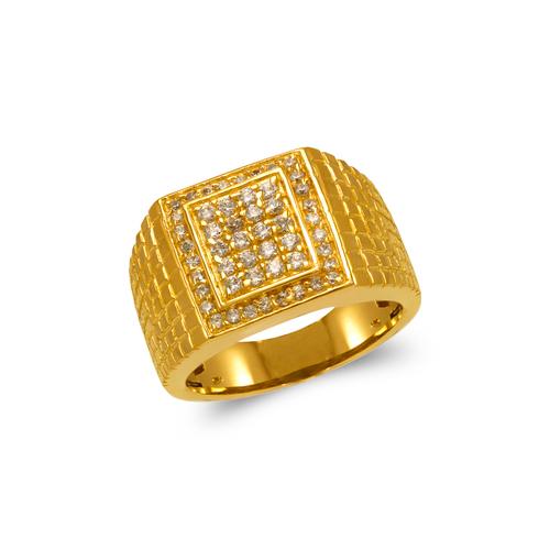679-002 Men's Cluster CZ Ring