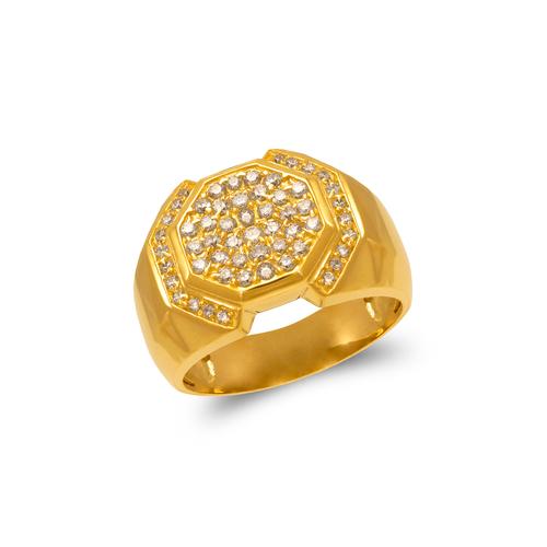 679-008 Men's Cluster CZ Ring