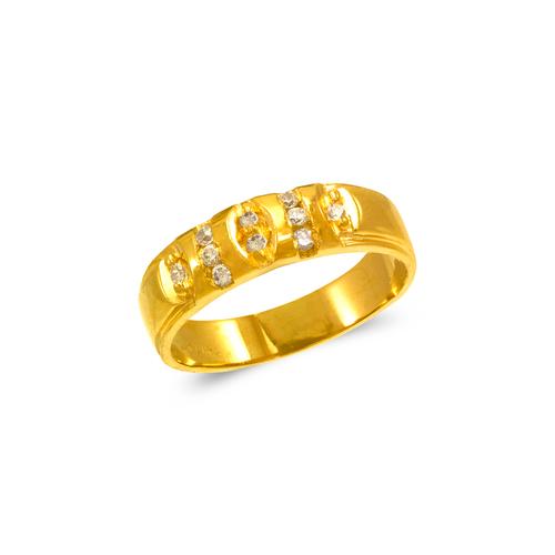 873-540 Men's Couple CZ Ring