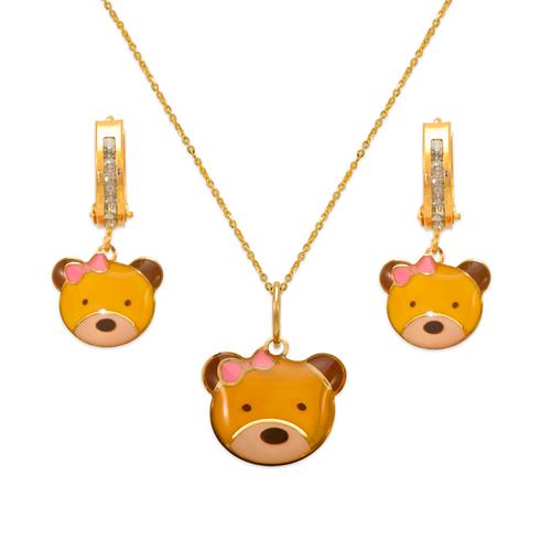 347-904S Teddy Bear Enamel Set