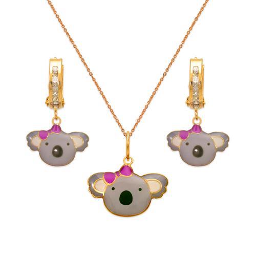 347-905S Koala Enamel Set