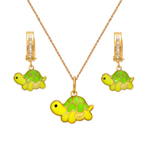 347-909S Turtle Enamel Set