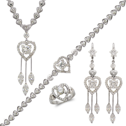 483-005WS Fancy White Collection Set