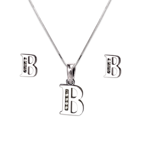 """583-101WBS Initial """"B"""" White Collection Set"""