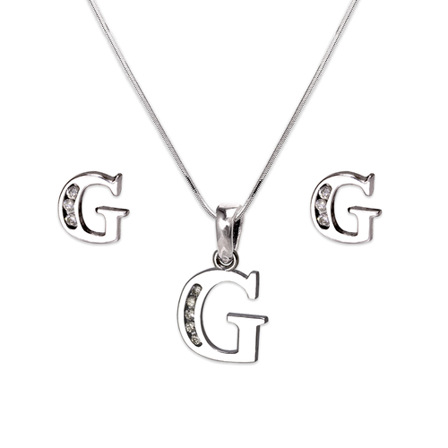 """583-101WGS Initial """"G"""" White Collection Set"""