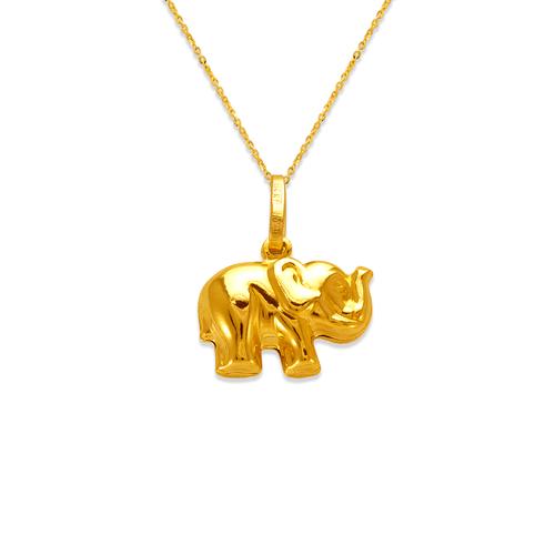 166-009 Elephant Charm Pendant