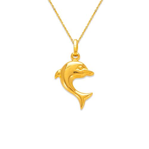 166-015 Dolphin Charm Pendant