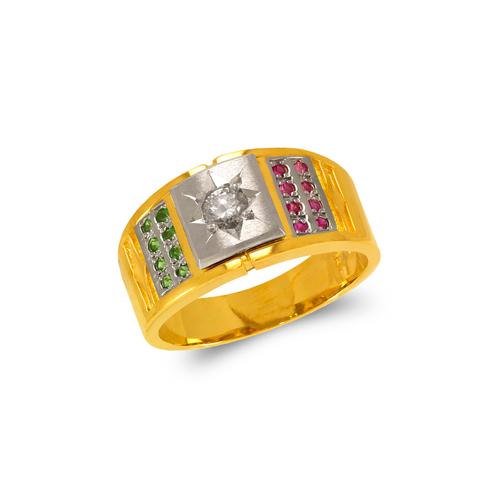 473-013 Men's Fancy CZ Ring