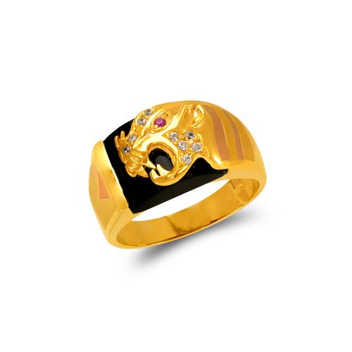 473-017 Men's Fancy CZ Ring