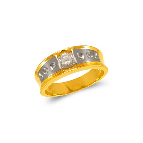 473-121 Men's Fancy Couple CZ Ring