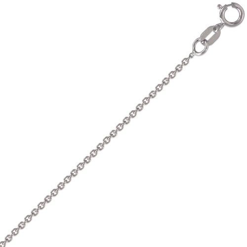 132-071WS Rolo White Chain