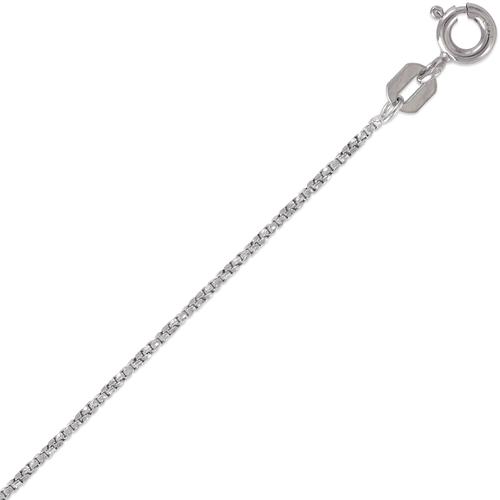 132-035WS D/C Twisted Box White Chain