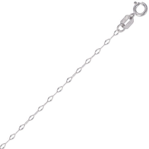 132-041WS Cable White Chain