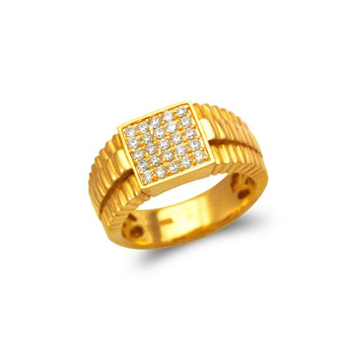 679-005 Men's Cluster Ring