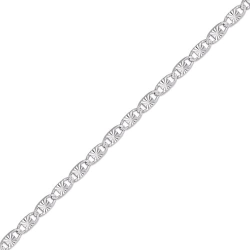 132-451WS Valentino D/C White Chain