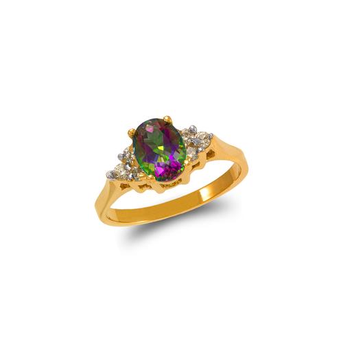 575-114 Ladies Mystic CZ Ring