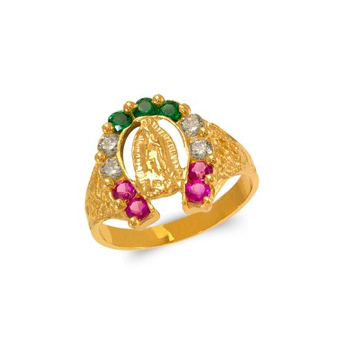 573-902 Men's Guadalupe Horseshoe Ring