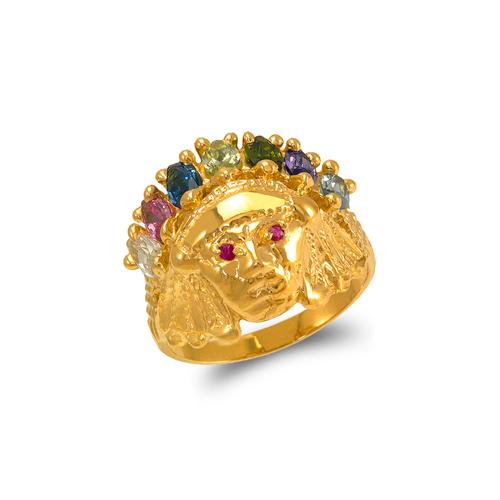 578-006 Men's Warrior CZ Ring
