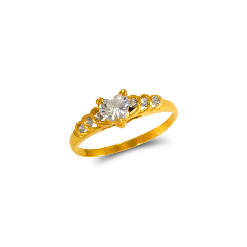 673-005 Ladies CZ Ring