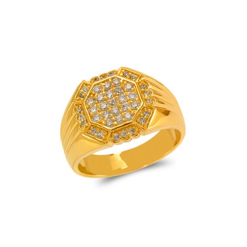 679-006 Men's Cluster Ring